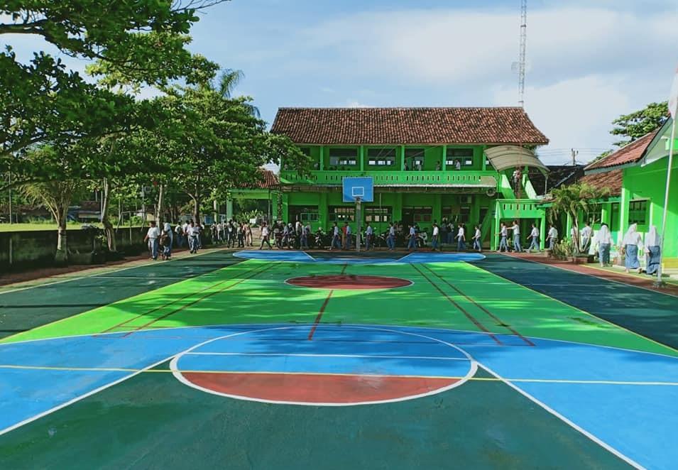 Lapangan Sekolah SMK Ma'arif 2 Temon