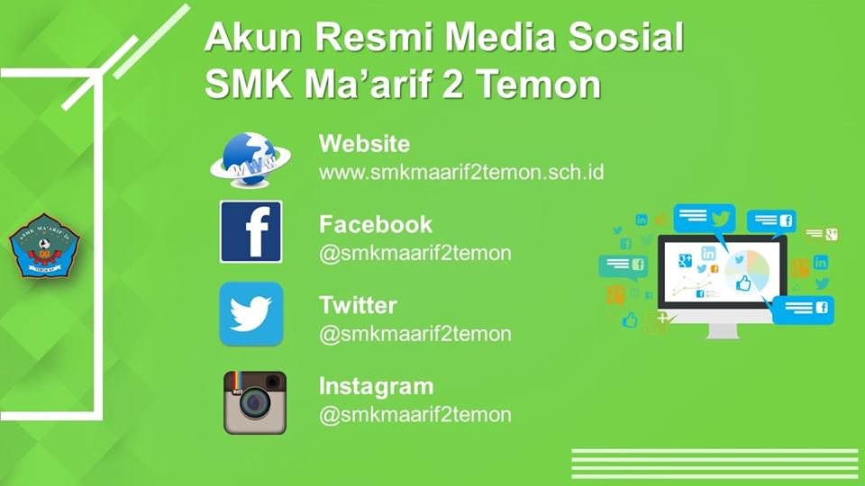 Akun-akun Resmi Media Sosial Sekolah