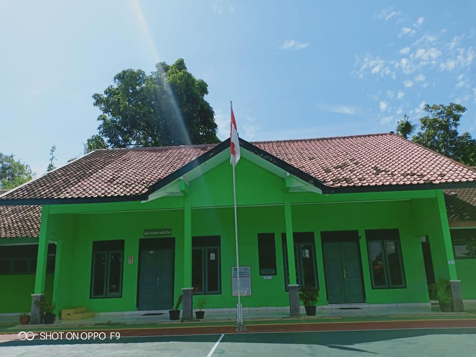 Gedung TU SMK Ma'arif 2 Temon